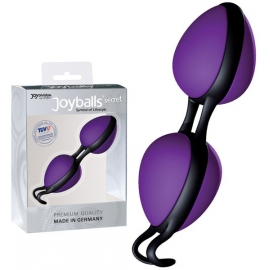 Boules joyball secret violet-noir