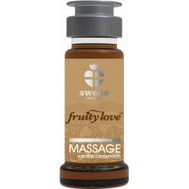 Huile de massage fruity love swede vanille canelle - 50 ml